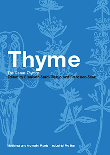 Thyme: The Genus Thymus (Medicinal and Aromatic Plants - Industrial Profiles Book 24) (English Edition)