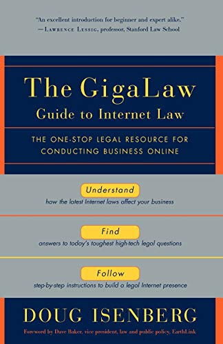 Download The GigaLaw Guide to Internet Law 0812991982