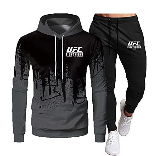 Herren MMA Fitness UFC Printed Hoodie...