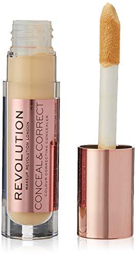 Makeup Revolution Conceal & Define Concealer - Banana