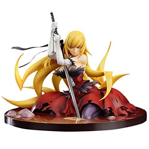 Mecotecn 14CM Anime Figuren, unbewegliche PVC Figur Manga Figuren Sammler Spielzeug für Anime-Fans und Erwachsene - Weiblicher Ninja