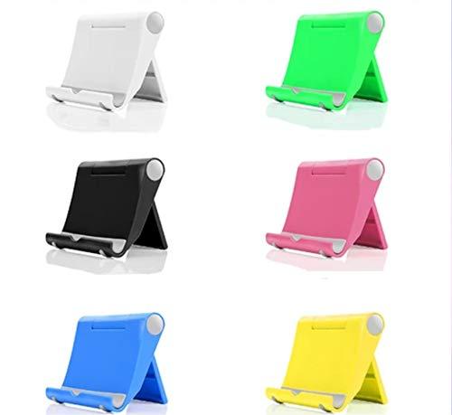 6pc / Set Mini Soporte para Teléfono con Múltiples ángulos, Soporte para Tableta Plegable Ajustable, Soporte para Teléfono Celular Actualización 2021, Soporte Universal Portátil