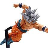 """LBBD """"Dragon Ball Super Figura de acción Ultra Instinto Goku Figura Kakarotto Super Saiyan Goku Dios..."""