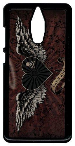 Générique Coque huawei mate 9 pro modèle pro gothique dark angel tetes de mort