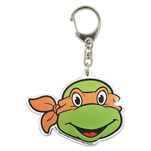 Ninja Turtles acrylic key chain/Michelangelo