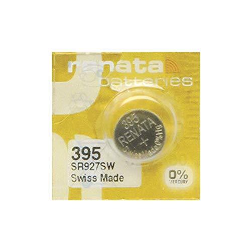 Renata MP-E 395 SR927SW - Pila para reloj (60% más de potencia, 1 unidad)