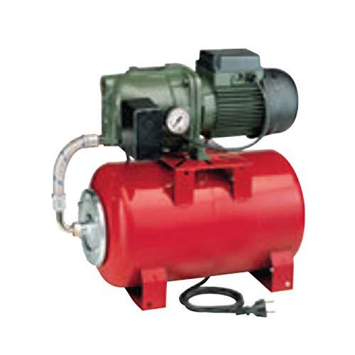 DAB Überdruck, 20 l, AQUAJETRED10220M, horizontaler Wassertank mit Wasserpumpe 0,75 kW bis 3,6 m³/h, einphasig, 220 V