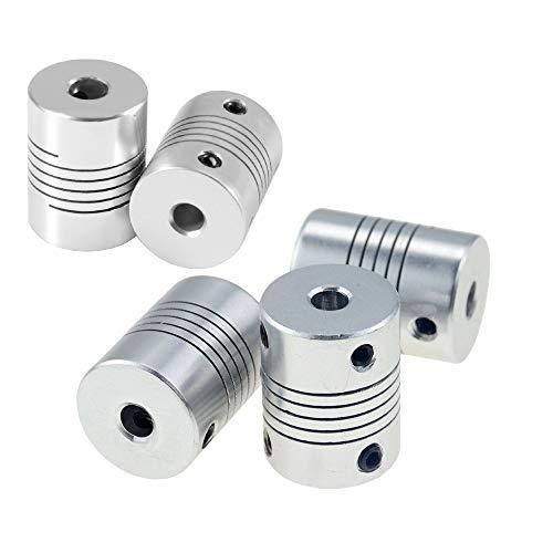 beihuazi® Wellenkupplung Flexible Kupplung 5mm bis 8mm kupplungen für Reprap 3D Drucker Oder CNC Maschine