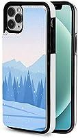 iphone 12 pro ケース iphone12 ケース 手帳型 冬の山 Iphone12 mini Iphone12 Pro Max 用 スマホケース スタンド機能 Apple 12 レザーウォレットケースアイフォン12 ケース / アイフォン12プロ ケース 財布型