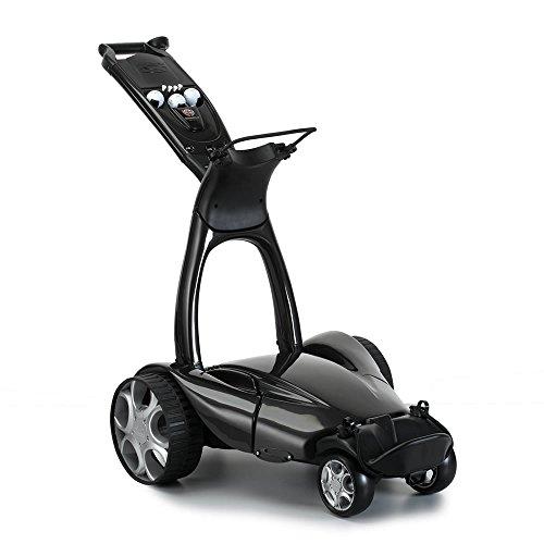 Stewart Golf X9 Remote Controlled Golf Trolley - Metallic Black