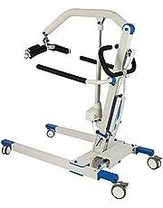 SKSNB Elevador eléctrico portátil Plegable para Pacientes, Equipos de Fisioterapia, fácil de operar con botón de Parada de Emergencia, Capacidad de Peso de 700 LB