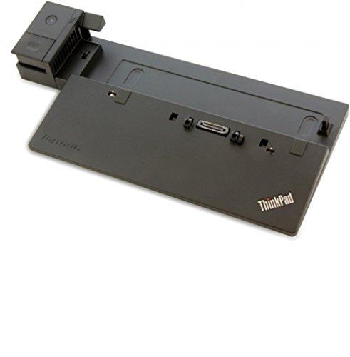 Lenovo 40A10065EU Dock für Thinkpad Pro (65 Watt, EU-Netzteil, VGA, DVI-D, DisplayPort, 3x USB 3.0/2.0)