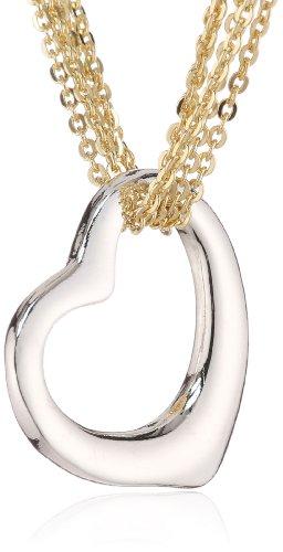 TOM TAILOR Damen Halskette Silber vergoldet rhodiniert TT4801345