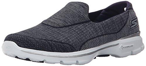 Skechers Damen Super Sock 3 Sneaker, Schwarz / Weiß, Azul (NVW), 40 EU