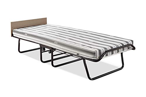 JAY-BE Supreme Folding Bed with Rebound e-Fibre Mattress and Automatic Folding Legs, Compact, Single