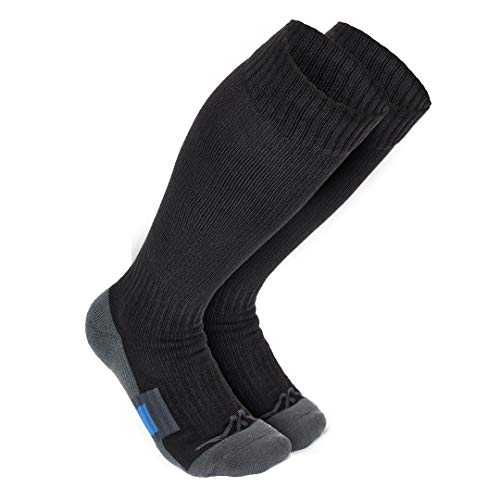 Wanderlust Air Travel Compression Socks - Premium Graduated Support Stockings For Men & Women - Prevents Swelling, Pain, Edema, & DVT! Great For Nurses, Airplane Flight, Running, Maternity, & More!