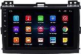 Hesolo Android Car Stereo Radio Car GPS Navigator es Compatible con Toyota Prado 2004-2009 Reproductor Multimedia Pantalla Grande Inteligente Video inverso Máquina integrada Adecuado