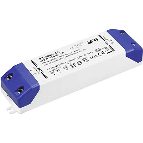 Self Electronics SLT30-700ILE-E LED-Treiber Konstantstrom 30.1 W 700 mA 27.0-43.0 V/DC Möbelzulassung, nicht dimmbar,