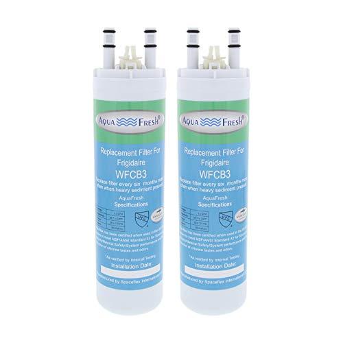 Price comparison product image Aqua Fresh WFCB3 compatible with WF3CB Refrigerator Water Filter - 2pk