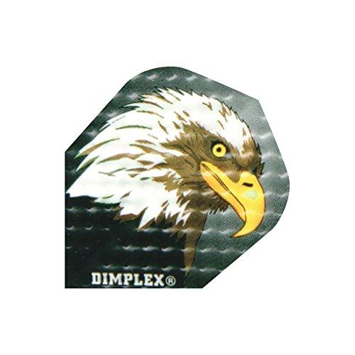 Harrows Dimplex Dart Flights Standard - Verschiedene Motive, 1 Set = 3 Stück (4000)