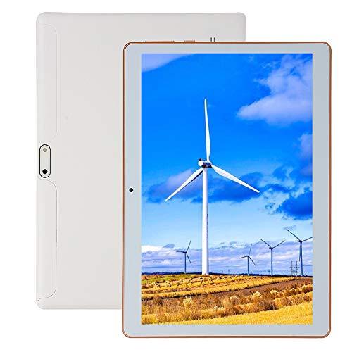 Tableta Ultraportátil de 10 Pulgadas,Tabletas Android con Cámara Dual y Dual SIM,16GB ROM+ Escalable 128GB,8000mAh Batería,WiFi/Bluetooth/GPS,Procesador Octa-Core