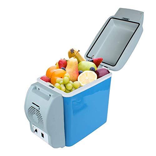 CCJW Portátil Coche del refrigerador del refrigerador y Calentador, 7.5L Camping eléctrico Coolers Bolsos Frescos, DC Desarrollado 12V, energía eficiente, Compacto, portátil y silencioso kshu