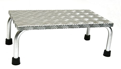 Alu-Montagetritt 1-stufig, HxBxT: 20x56x30cm, Marke: Szagato (Arbeitspodest Stufentritt Tritt Trittleiter Aluminium)