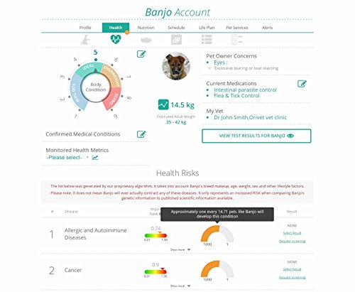 Orivet Dog DNA Test | Dog Breed Test Kit, Genetic Testing, Heritable Health Risks and Life Plan
