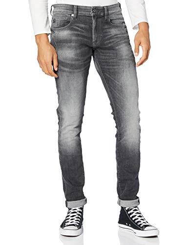 G-STAR RAW Herren Jeans 4101 Lancet Skinny, Vintage Basalt Destroyed A634-B429, 27W / 32L