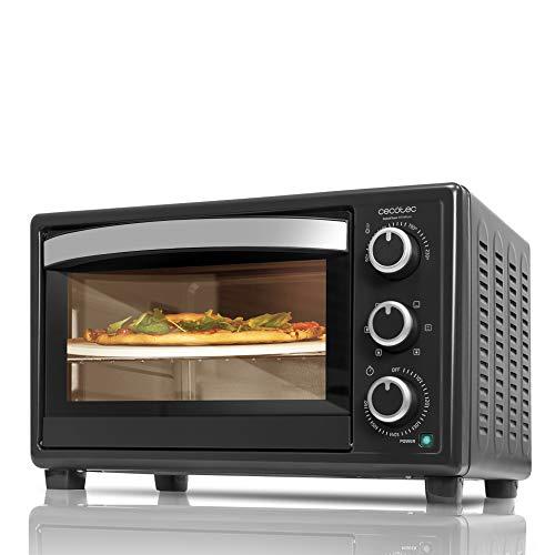Cecotec Horno Sobremesa con piedra para pizza Bake&Toast