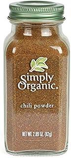 Simply Organic Chili Powder, Certified Organic   2.89 oz