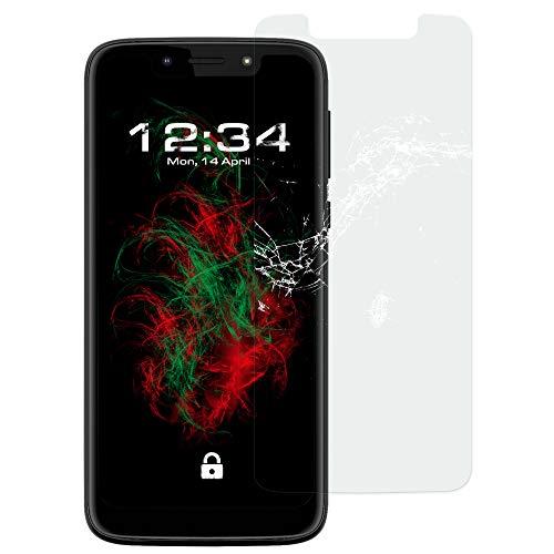 Baluum 1x Panzerglas kompatibel mit Motorola Moto G7 Play klare Bildschirmschutzfolie 9H Echt Glas-Folie Clear Schutzfolie