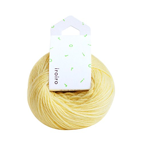 横田 DARUMA iroiro 毛糸 col.33 チーズ 20g 約70m 3玉セット 01-1410-0033