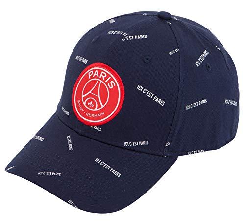 Paris Saint Germain Cap PSG – Offizielle Kollektion, verstellbare Größe, Erwachsene