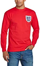 England 1966 World Cup Final Away No.6 Shirt - Red, X-Large by England Rugby