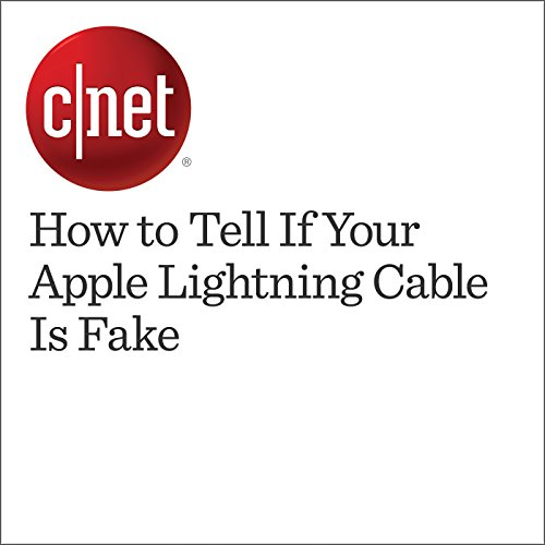 How to Tell If Your Apple Lightning Cable Is Fake cover art