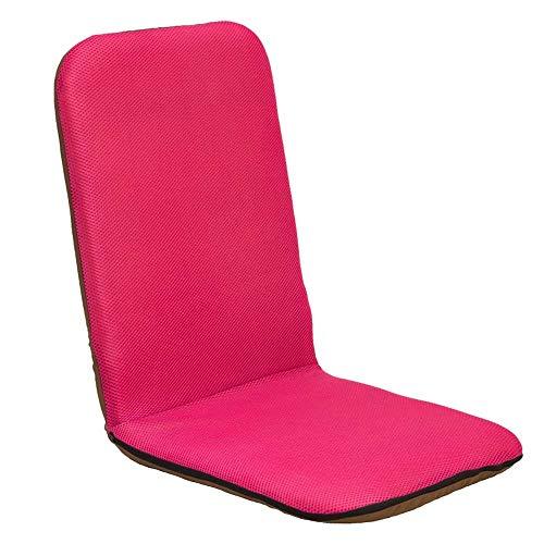 YHLZ Lazy Sofa, Bodenstuhl Boden Stuhl Folding Sofa mit Rückenlehne, Kleine Reise Meditation Kissen Kissen, for Dorm/Tatami/Wohnzimmer/Schlafzimmer (Color : C)
