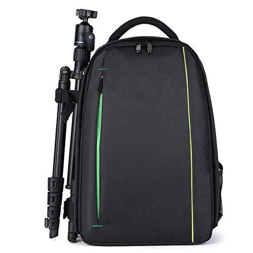MAJFK Mochila de seguridad multifunción para cámara de fotos, de gran capacidad, profesional, para cámara, portátil, accesorios para hombres, color verde