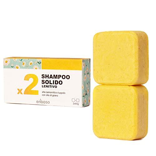 Shampoo Solido Bio Lenitivo e Illuminante alla...
