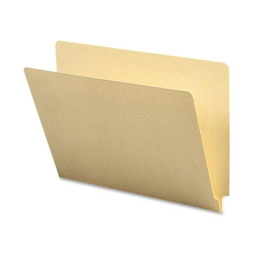 Smead End Tab File Folder, Straight-Cut Tab, Letter Size, Manila, 100 per Box (24100)