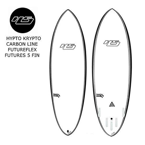 HAYDEN SHAPES SURFBOARDS HYPTO KRYPTO CARBON LINE FUTUREFLEX FUTURES 5 FIN HAYDENSHAPES ヘイデンシェイプス ヒプト クリプト カーボンライン 5フィン フューチャーフレックス 【CARBON LINE】 日本正規品 (carbon line white, 5'8')