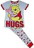 Pyjama Disney Winnie l'ourson avec t-Shirt et Pantalon Revers pour Femme Taille 40-42