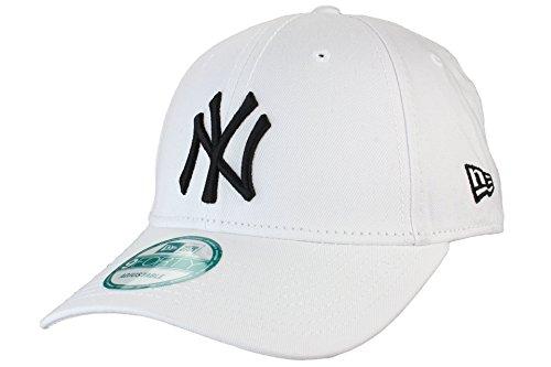New Era - Gorra de béisbol - para hombre negro/blanco Talla única