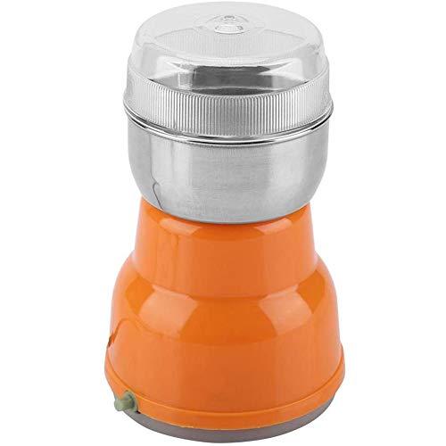 Koffiemolen, elektrische koffiemolen huishouden noten granen hartige kruiden slijpen 220V,Orange