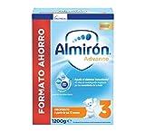 Almirón Advance 3, Leche de Crecimiento en Polvo para Bebé, desde los 12 Meses, 1.2kg