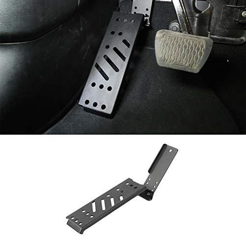 Bestmotoring Jeep Wrangler JL Foot Rest Pedal, Left Foot Rest Dead Pedal Black for Jeep Wrangler JL 2018-2021 -  21-112-Best-us-02480