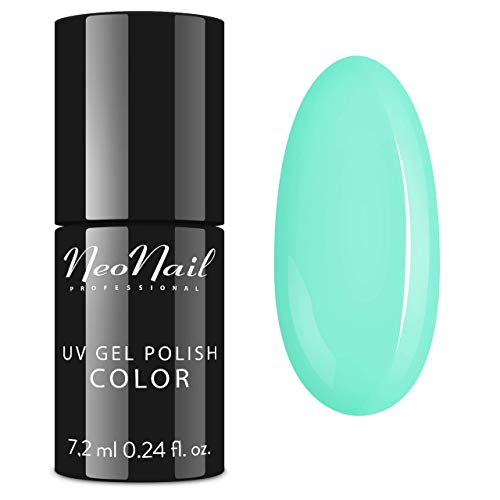 NeoNail UV Nagellack 7,2 ml - Candy Girl Delicious - UV Lack Gel Polish Soak off Nagellack UV Gel LED Polish Lack Shellac (3754-7 Summer Mint)