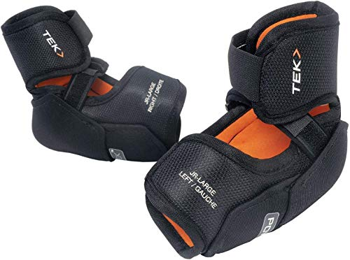 PowerTek V3.0 Tek Ice Hockey Hard Elbow Pads (Junior Small)