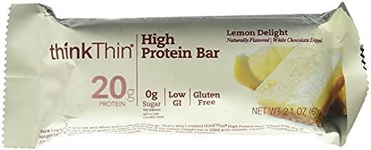 Think Thin Bar Lemon Delight