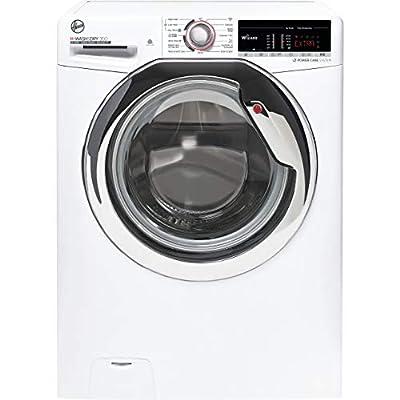 Hoover H-Wash 300 H3D41065TACE Freestanding Washer Dryer, Large Capacity, 10 kg/6 kg, 1400 rpm, White